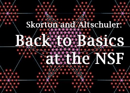 Back to basics at the NSF